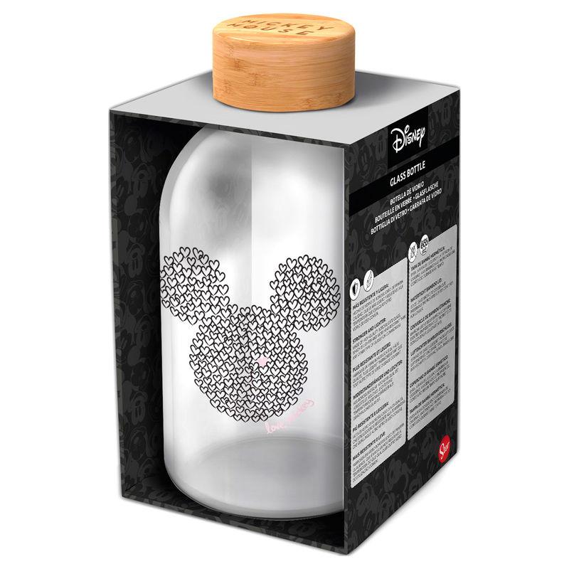 Disney Mickey glass bottle 620ml