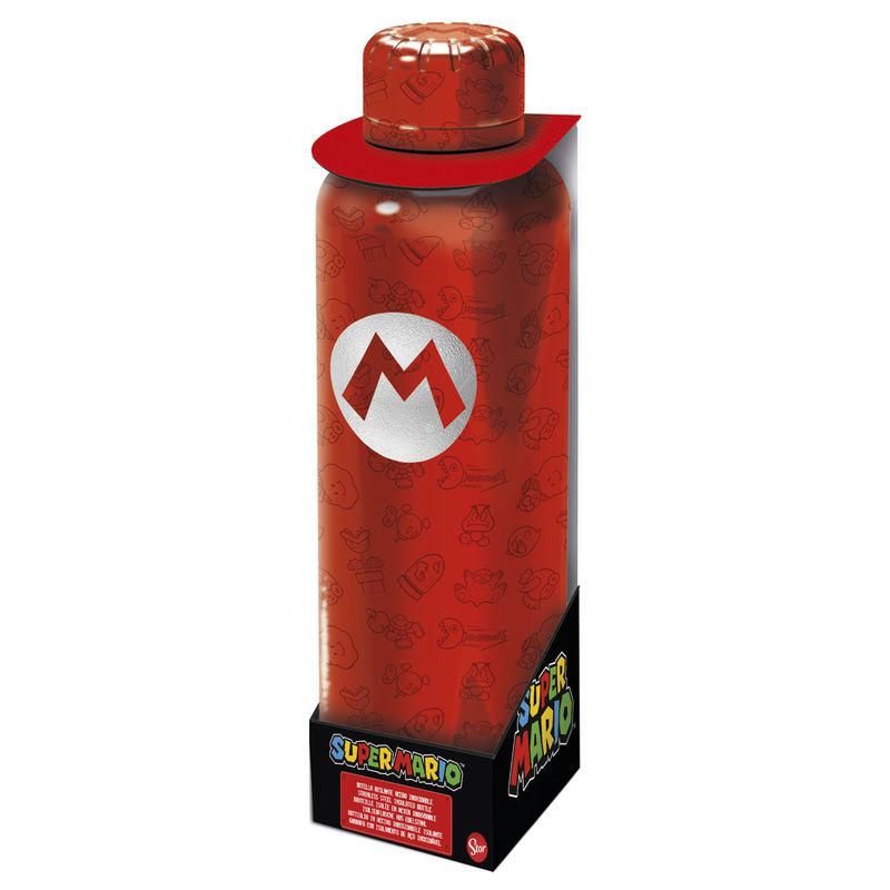 Nintendo Super Mario Bros stainless steel bottle 515ml