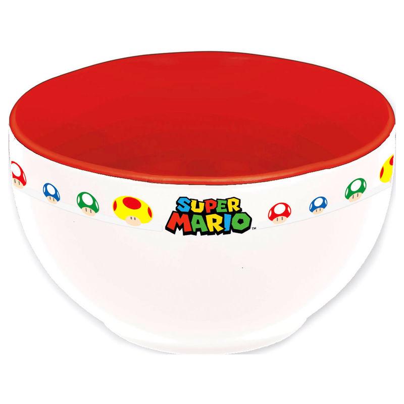 Super Mario Bros breakfast bowl