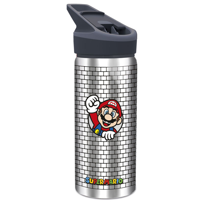 Nintendo Super Mario Bros aluminium canteen