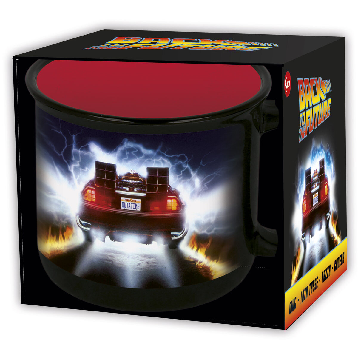 Back to the Future mug 415ml