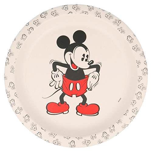 Disney Mickey 90 years bamboo plate