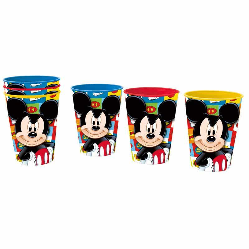 Disney Mickey set 3 tumblers