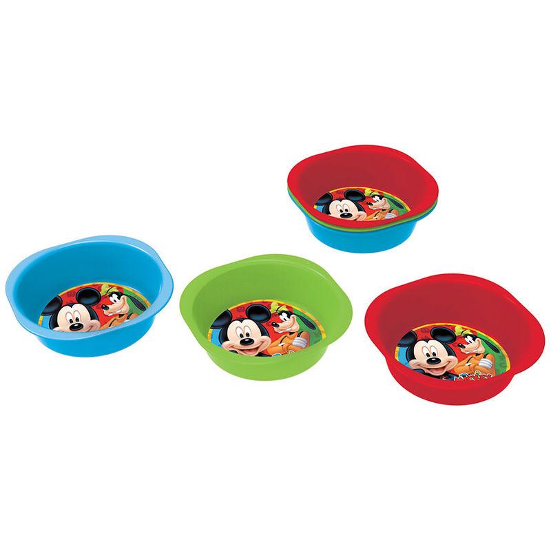 Disney Mickey picnic bowl set
