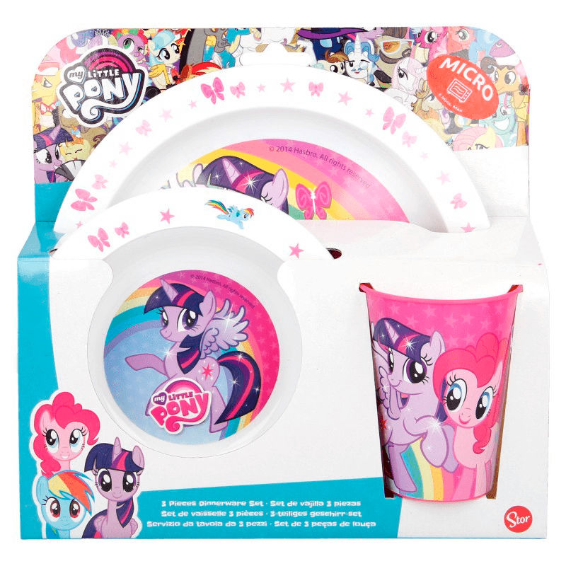 My Little Pony micro breakfast set
