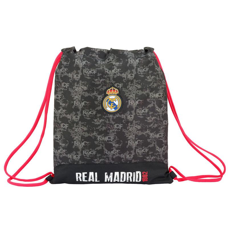 Real Madrid Black gym bag 40cm