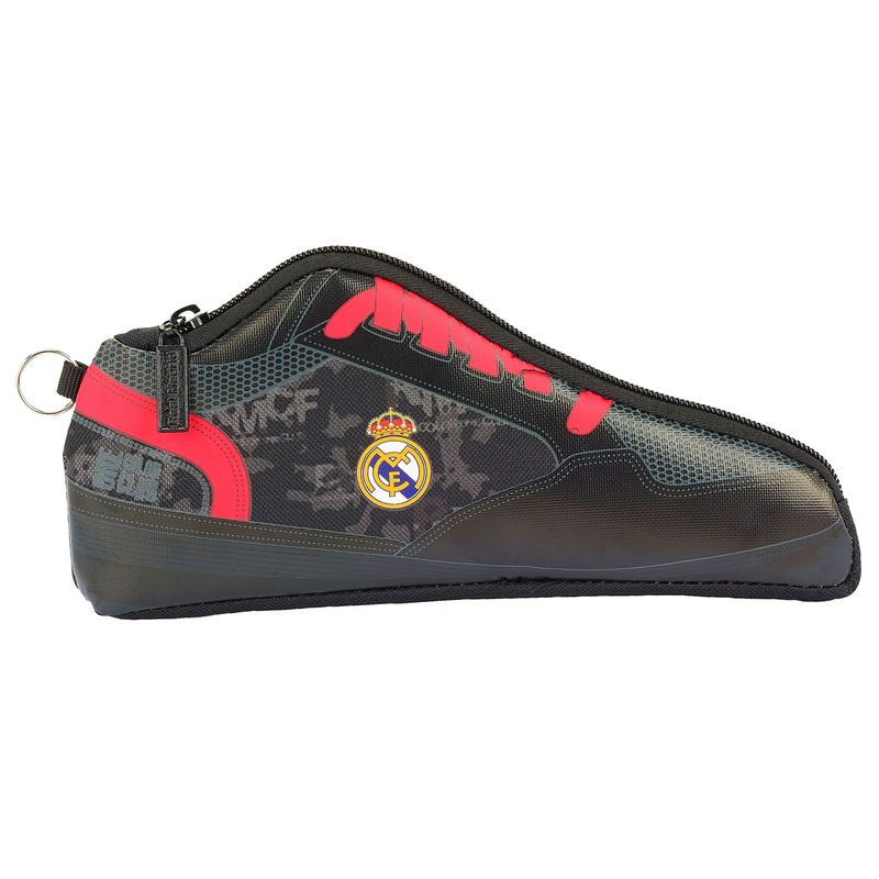 Real Madrid Black shoe pencil case