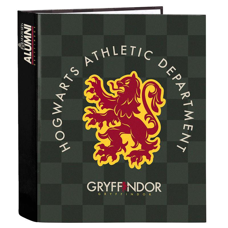Harry Potter Gryffindor A4 cardboard ring binder