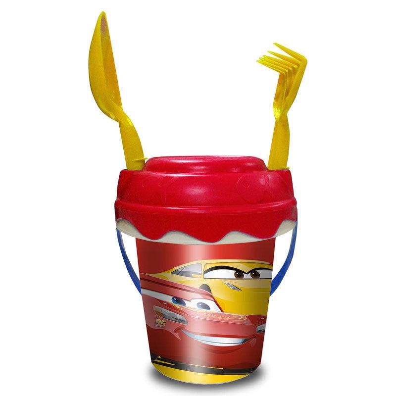 Cars Disney mini sand bucket for babys