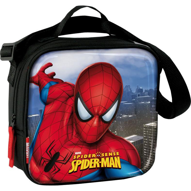 Bandolera termica merienda Spiderman Marvel