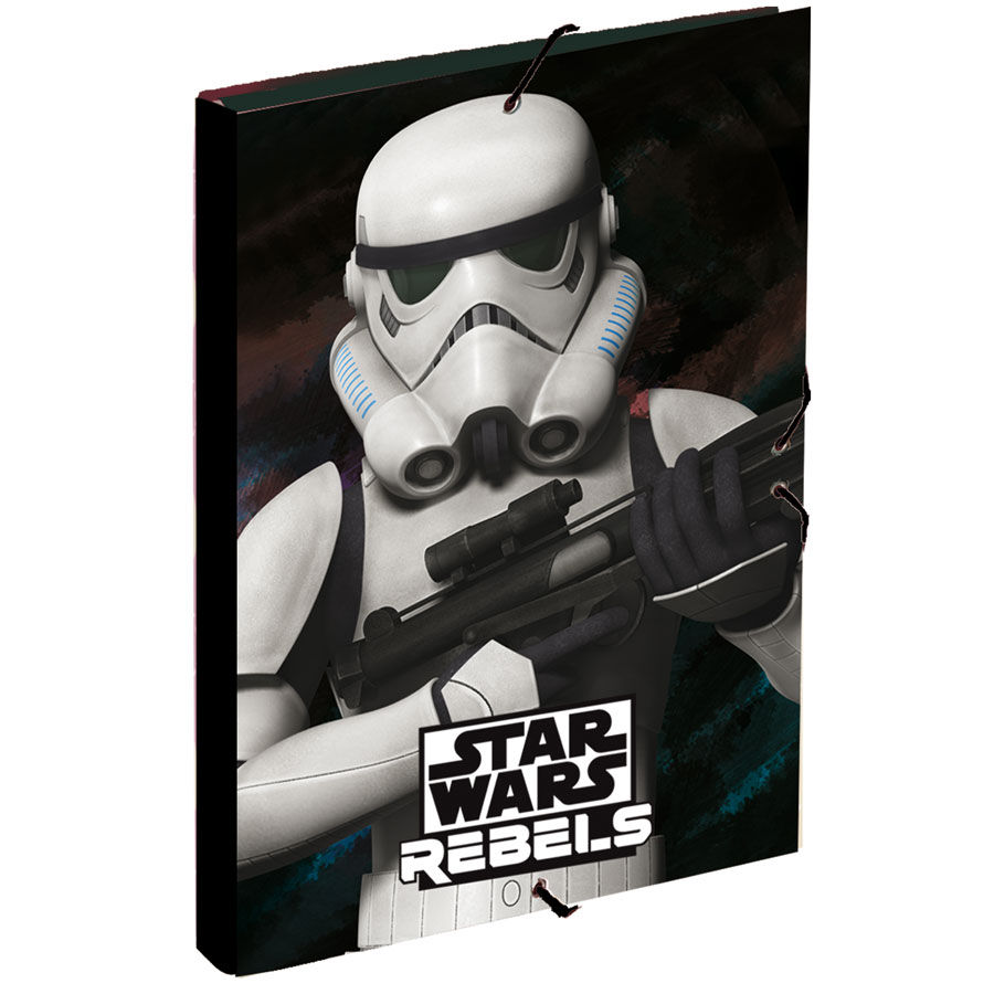 Star Wars Stormtrooper A4 folder with flaps
