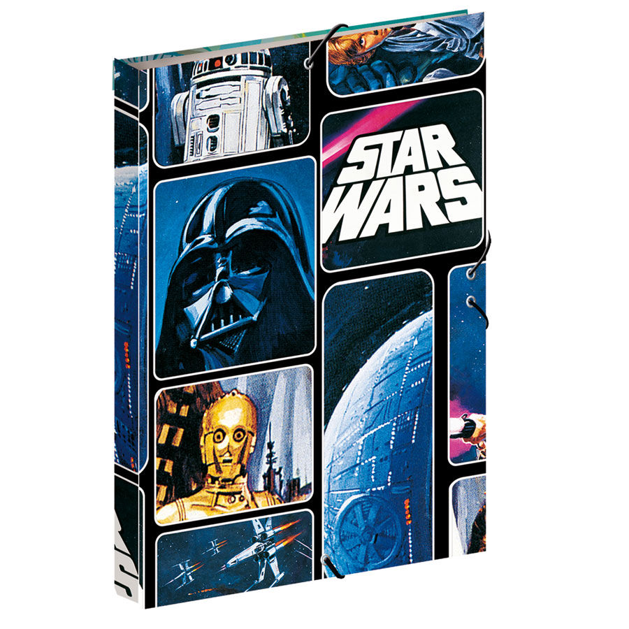 Star Wars A4 folder with flaps