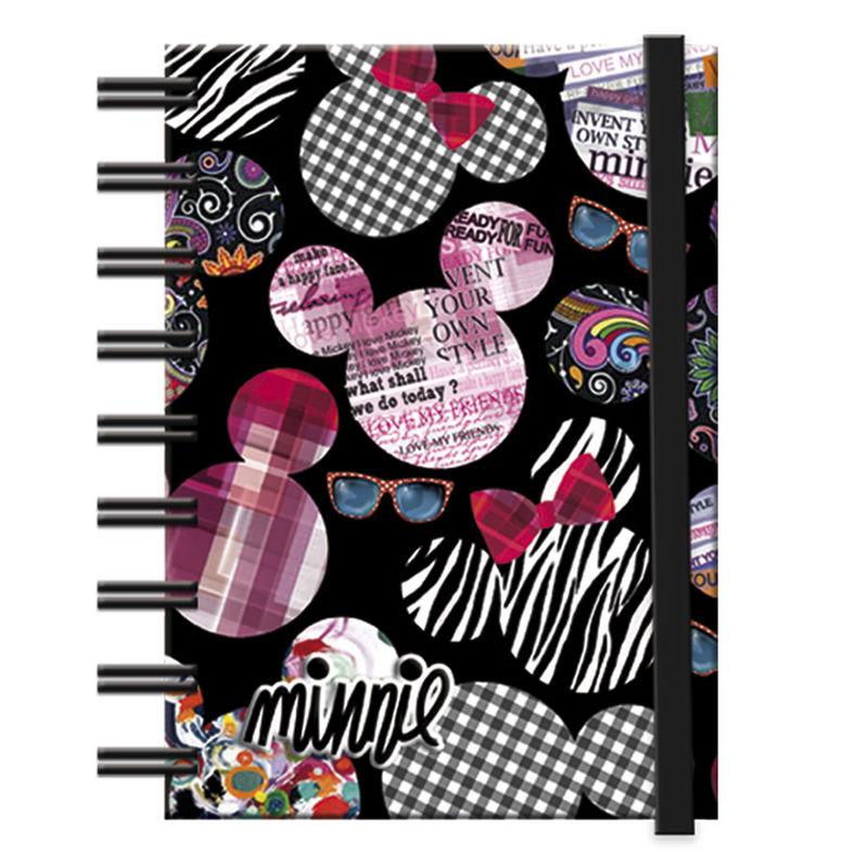 Notebook Minnie Disney Art band