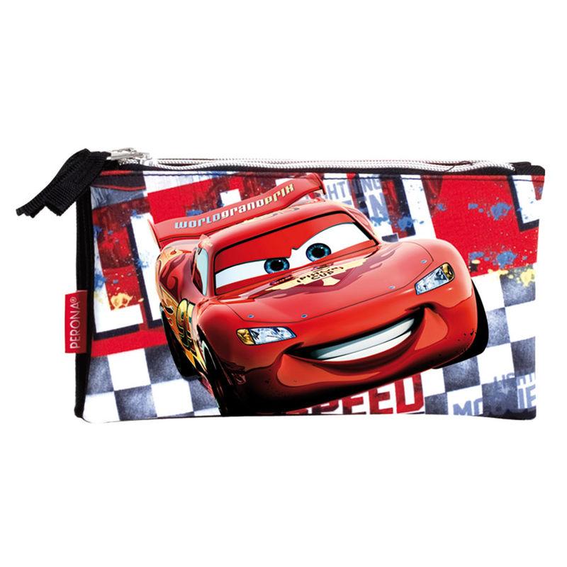 Triple pencil pouch Cars Disney Acceleration