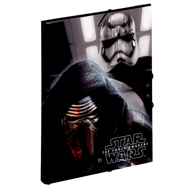 Star Wars Starkiller A4 folder with flaps