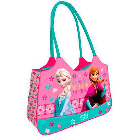 Bolsa playa Frozen Disney My Sister 54x40x15cm