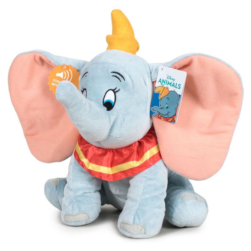 Disney Dumbo soft plush toy with sound 30cm