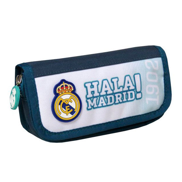 Real Madrid pencil case with flap