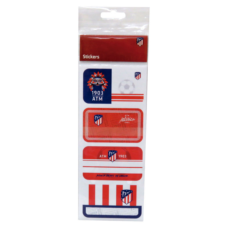 Atletico Madrid books stickers