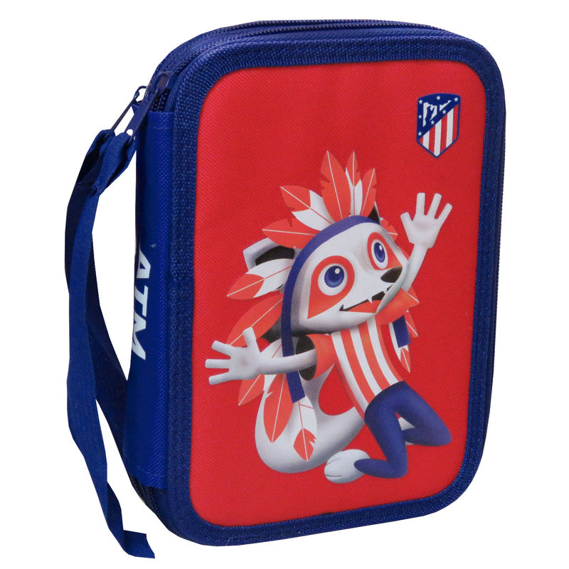 Atletico Madrid double pencil case