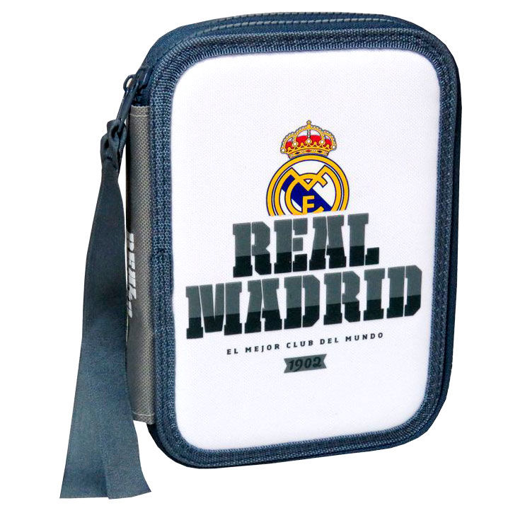 Real Madrid double pencil case