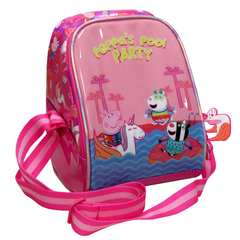 Peppa Pig Pool Party isothermic lunch bag