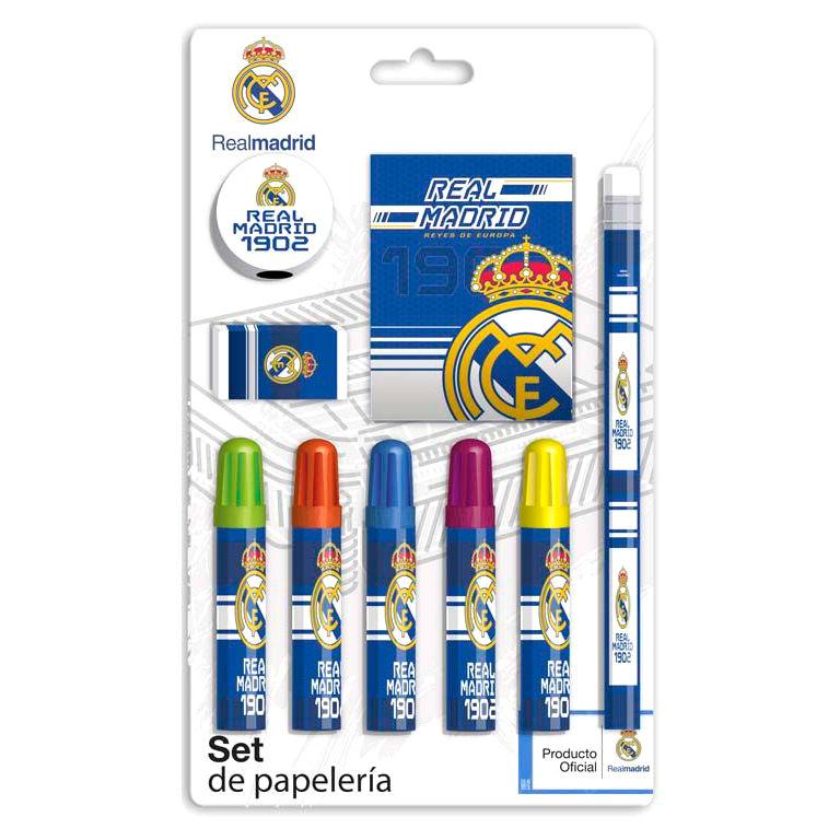 Real Madrid stationery set 9pcs