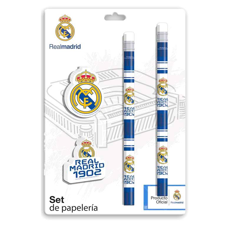 Real Madrid stationery set