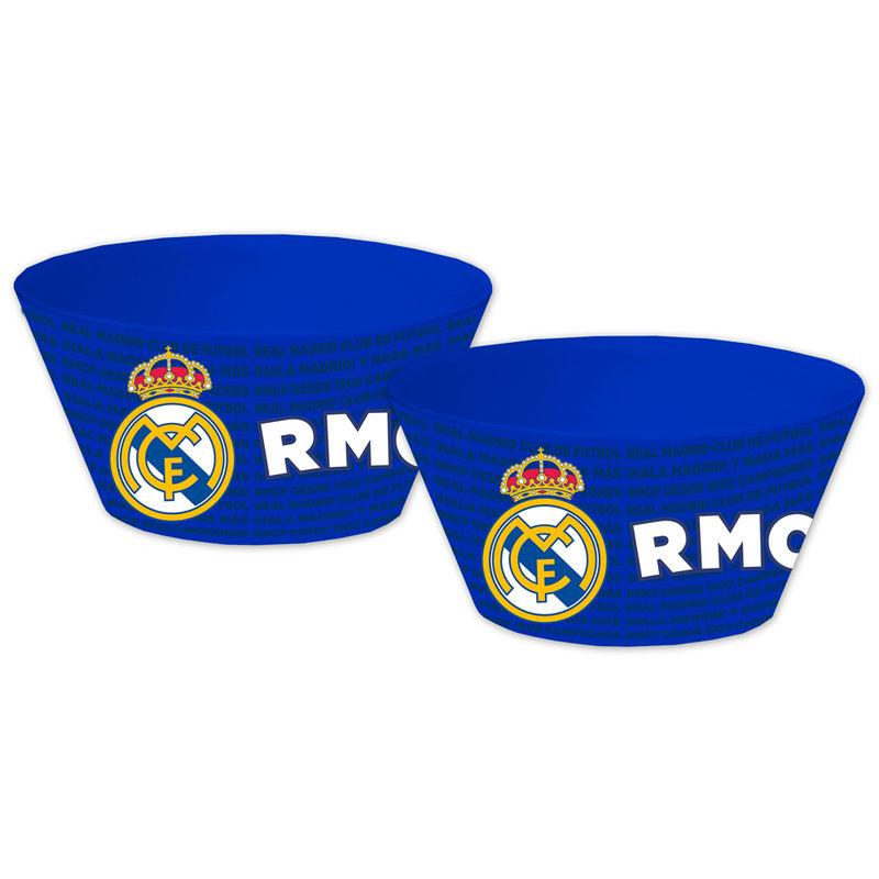 Real Madrid bambu bowls set