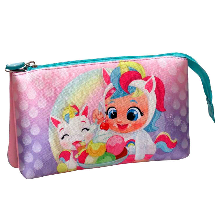 Cry Babies triple pencil case