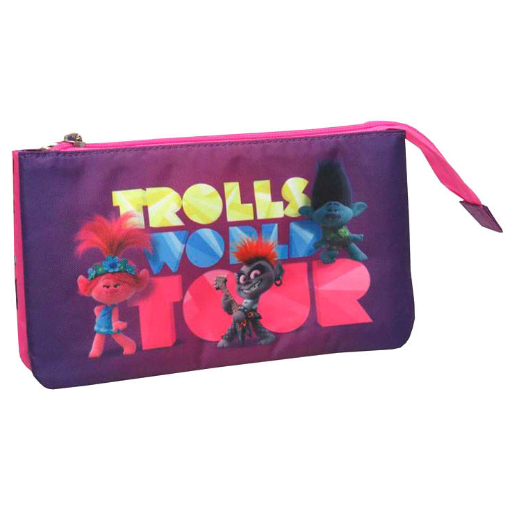 Trolls triple pencil case