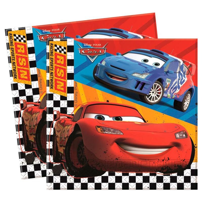 Disney Cars set 20 napkins