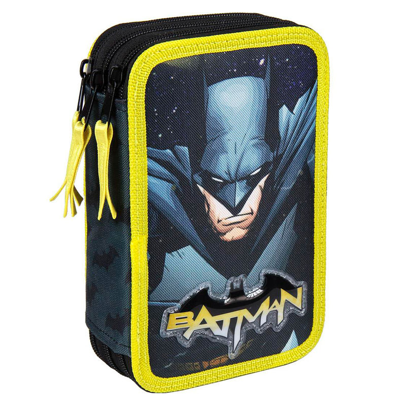 DC Comics Batman Giotto triple pencil case