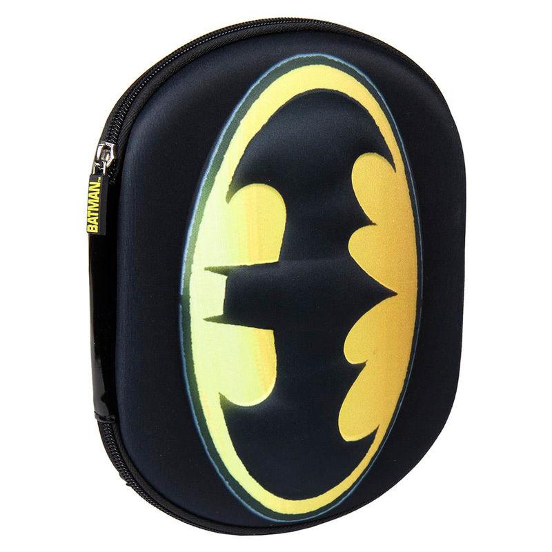 DC Comics Batman 3D triple pencil case