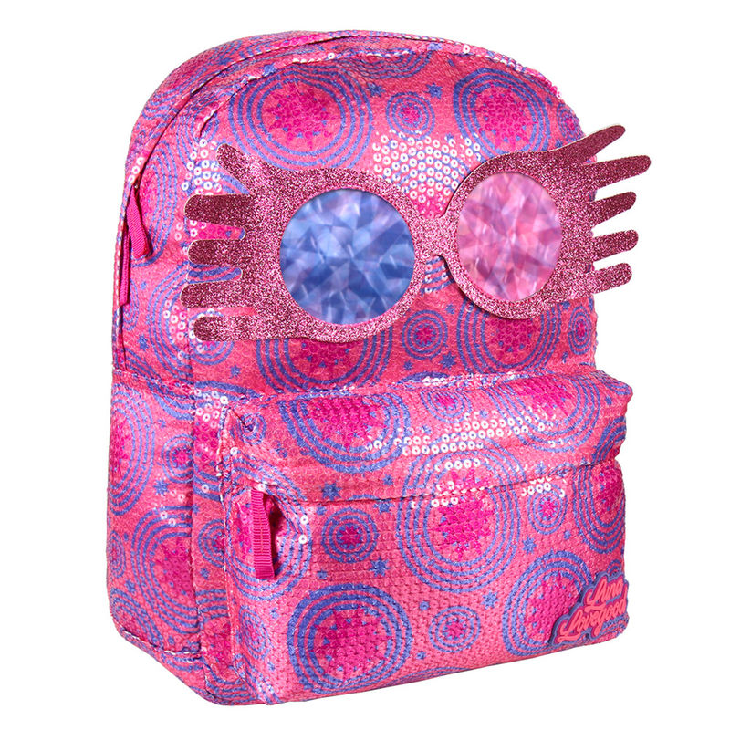 Harry Potter Luna Lovegood sequins backpack 42cm