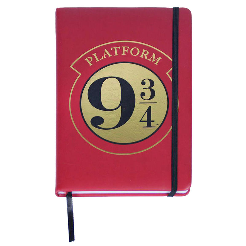 Harry Potter Platform 9 3/4 premium A5 notebook