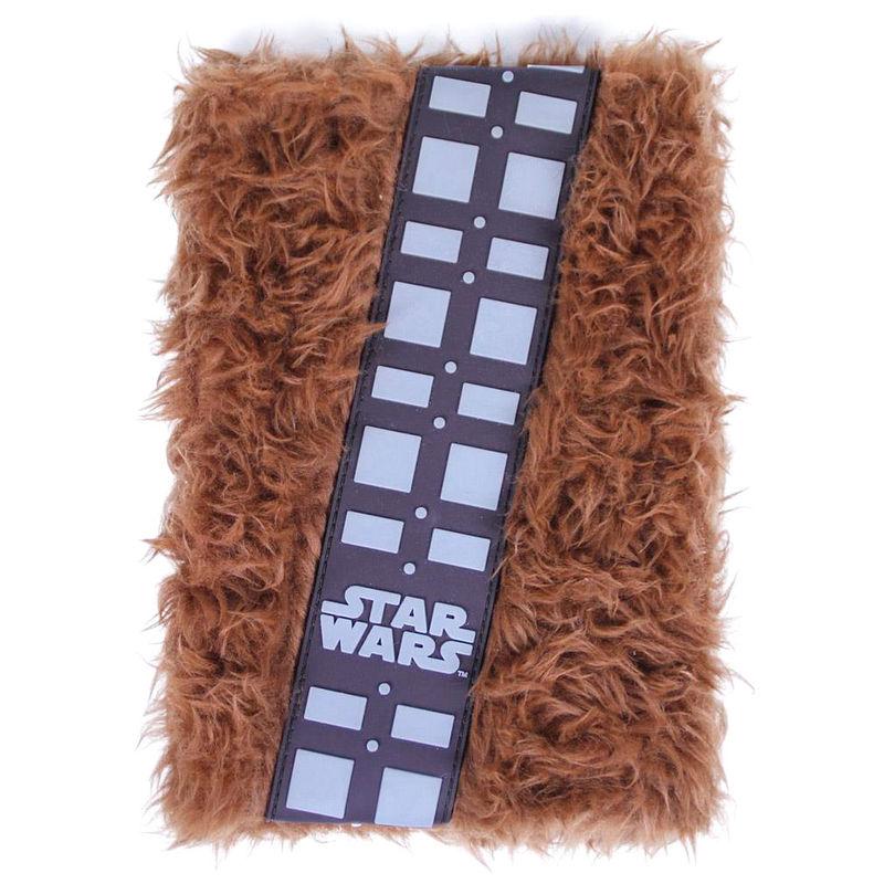 Star Wars Chewbacca A5 plush notebook