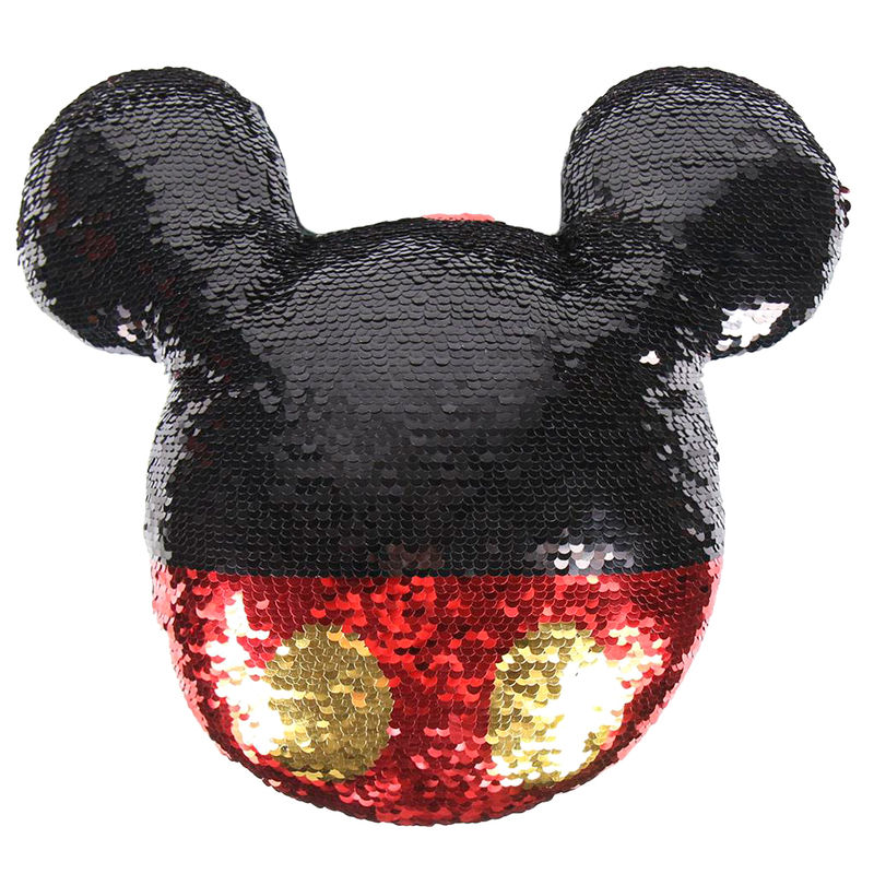 Disney Mickey sequins cushion