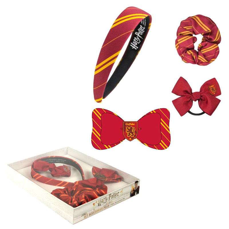 Harry Potter Gryffindor hair accessories