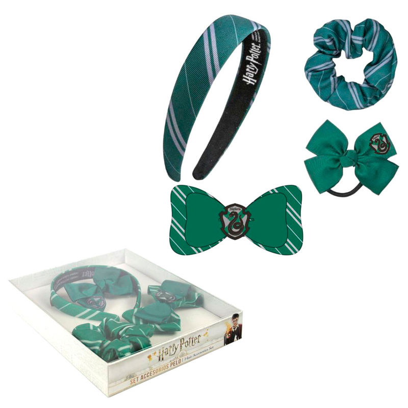 Harry Potter Slytherin hair accessories