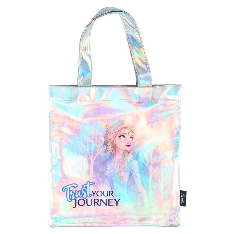 Disney Frozen 2 iridiscent shopping bag straps