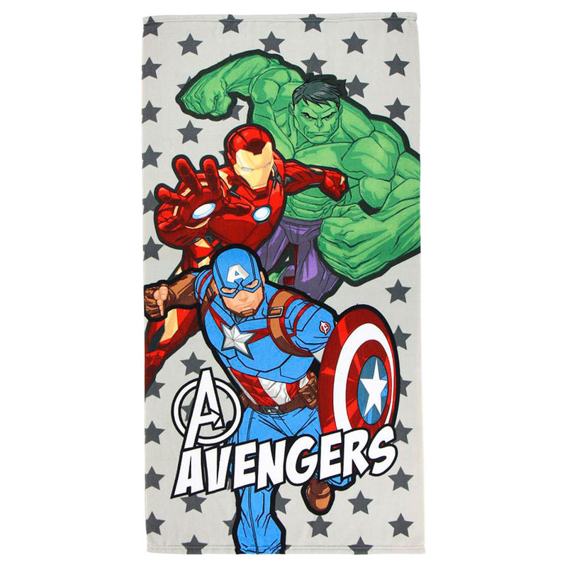 Marvel Avengers microfiber beach towel