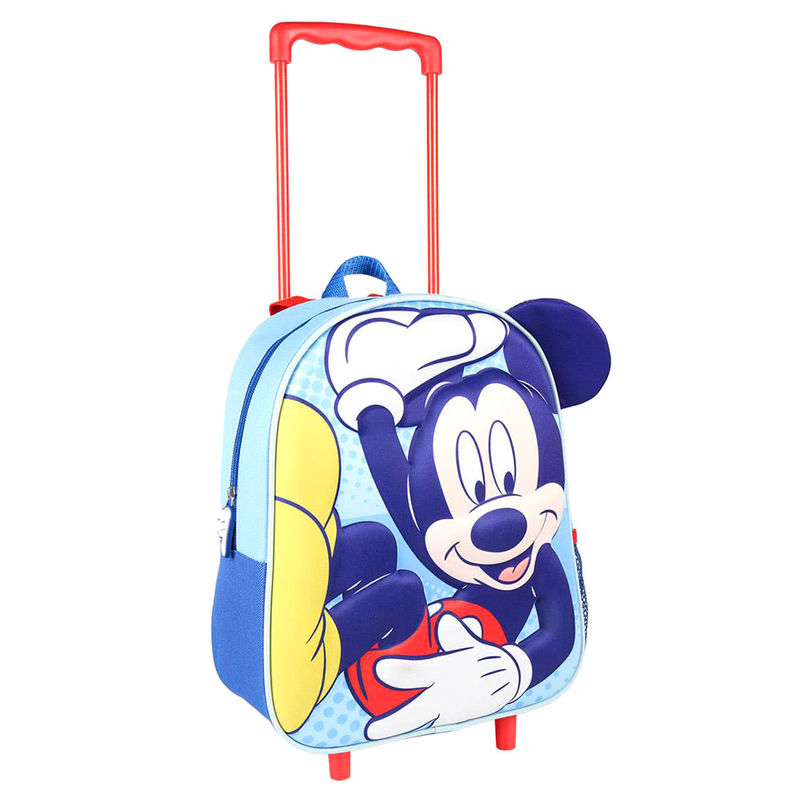 Disney Mickey 3D premium trolley 31cm
