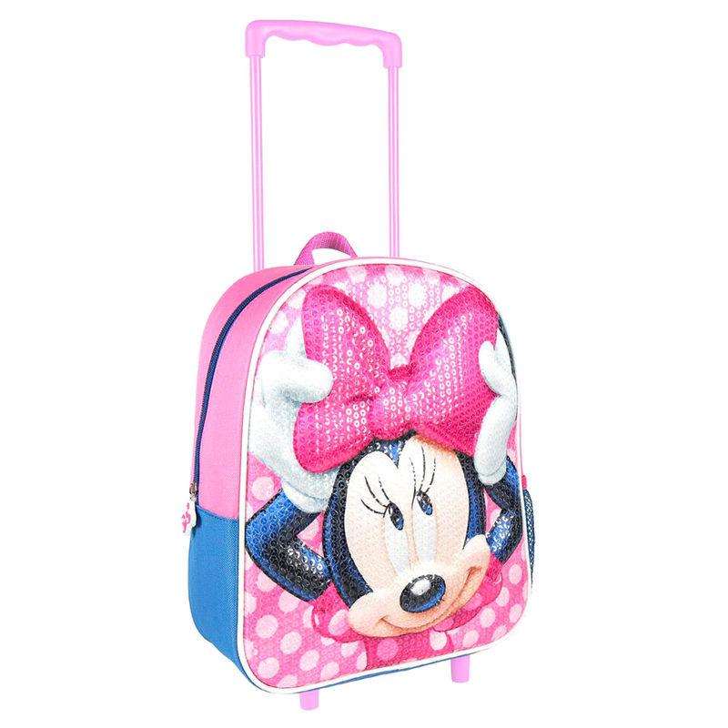 Disney Minnie 3D seljakott-käru 31cm