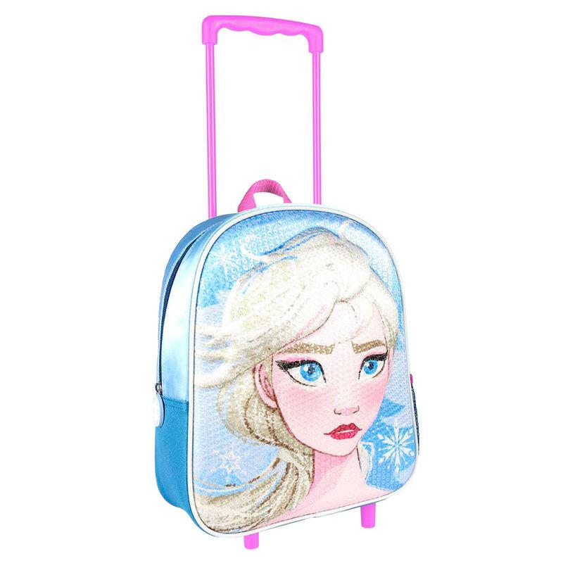 Disney Frozen 2 3D seljakott-käru 31cm litritega