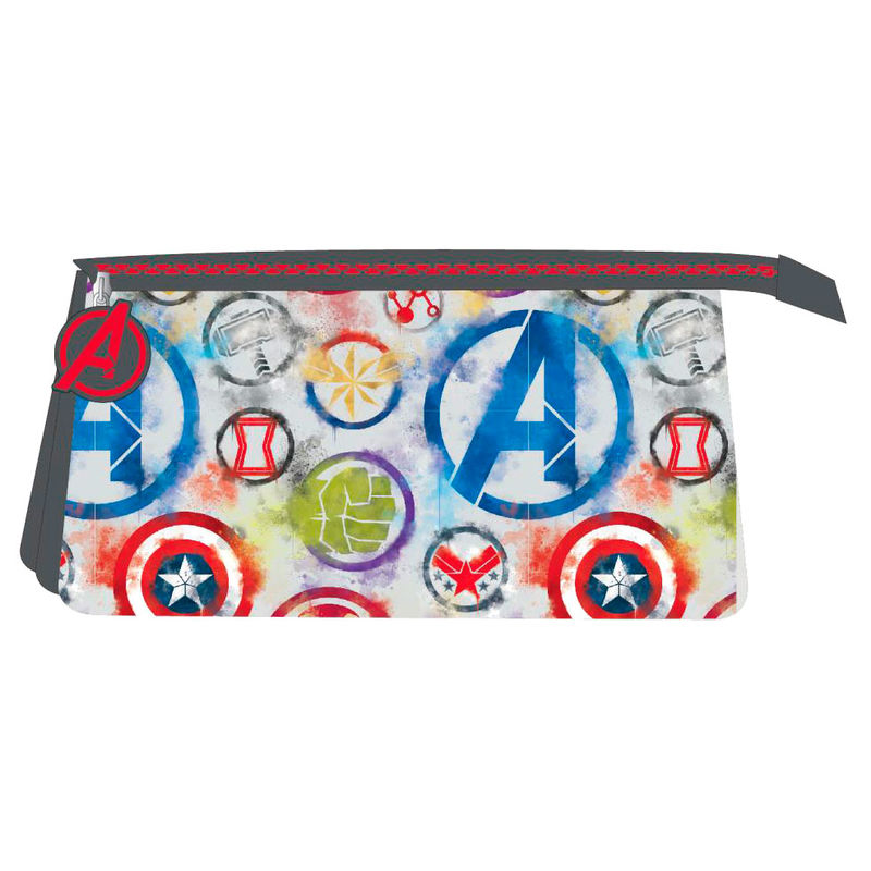 Marvel Avengers triple pencil case