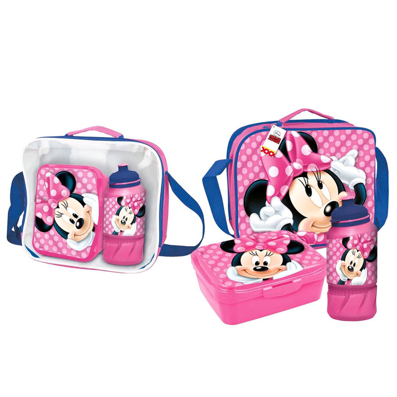 Disney Minnie lunch bag with accessories