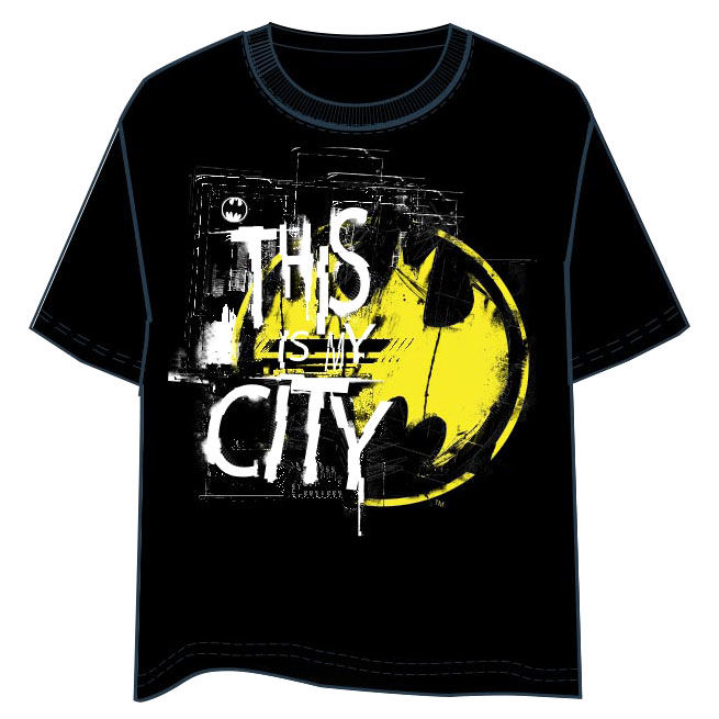 DC Comics Batman City adult t-shirt