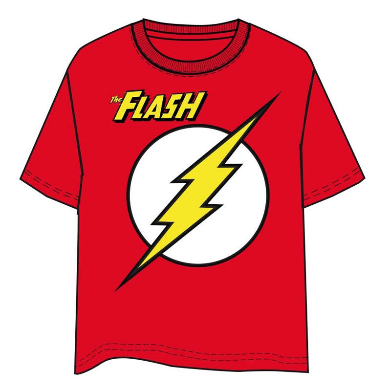 DC Comics The Flash adult t-shirt