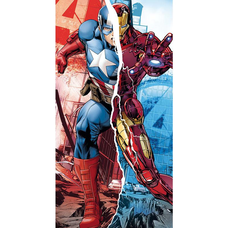 Marvel Avengers Captain America Iron Man cotton towel